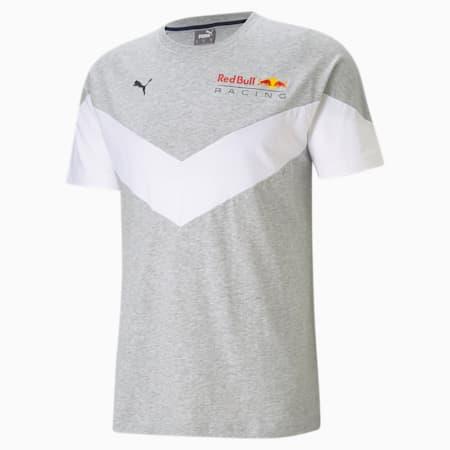 Red Bull Racing MCS Men's Tee, Light Gray Heather, small-GBR