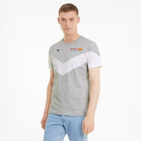 Red Bull Racing MCS Men's Tee, Light Gray Heather, small