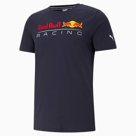 Red Bull Racing Logo Men's Tee, NIGHT SKY, small