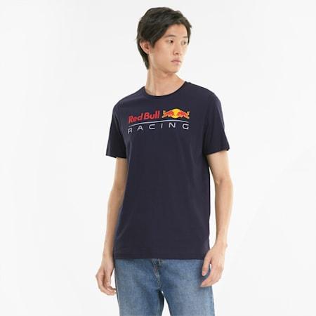 Męski T-shirt z logo Red Bull Racing, NIGHT SKY, small