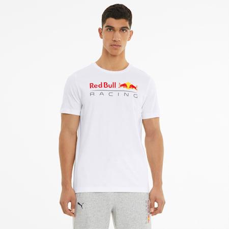 Red Bull Racing Logo Men's Tee, Puma White, small-GBR