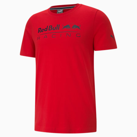 Red Bull Racing Logo Men's  T-shirt, Chinese Red, small-IND