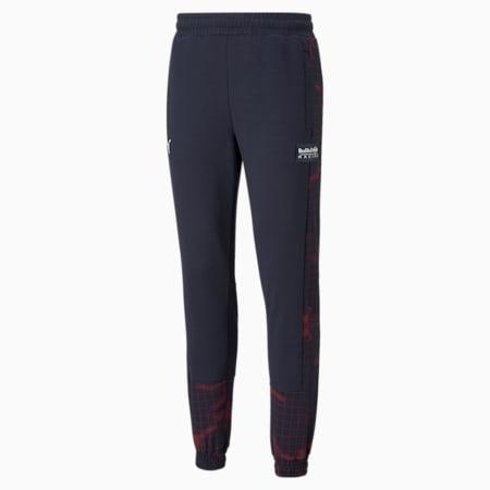 Red Bull Racing AOP Regular Fit Men's Sweat Pants, NIGHT SKY, small-IND