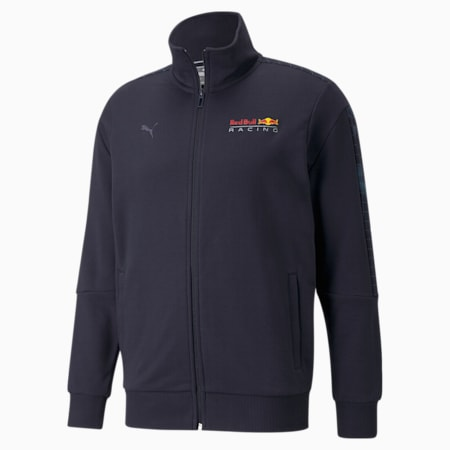 Red Bull Racing T7 Full-Zip Men's Jacket, NIGHT SKY, small-SEA