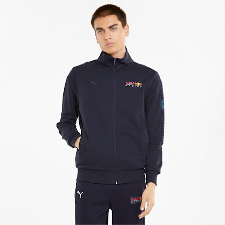 Red Bull Racing T7 Full-Zip Men's Jacket, NIGHT SKY, small