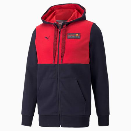 Red Bull Racing hoodie met volledige rits heren, NIGHT SKY, small