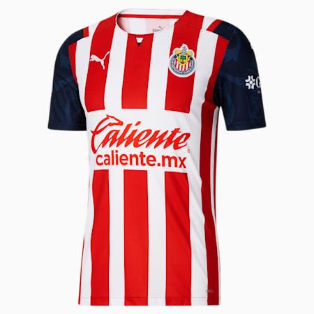 Reproduction de maillot à domicile Chivas, 21-22, Rouge PUMA, petit