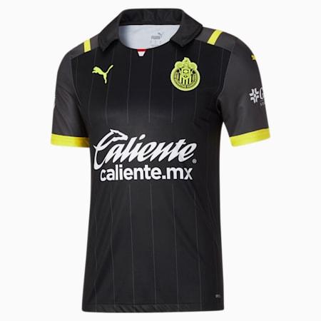 Camiseta alternativa de visitante de Chivas 21-22 para hombre, Puma Black, pequeño