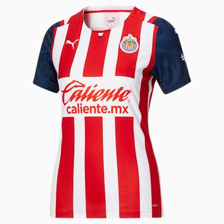 Camiseta alternativa de local de Chivas 21-22 para mujer, Puma Red, pequeño