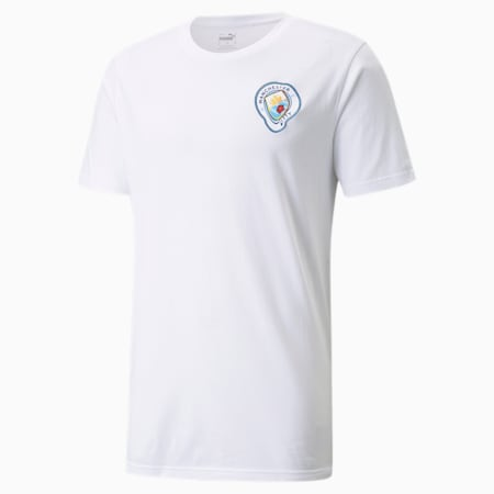 T-shirt de football graphique Man CityxMDCR homme, Puma White, small