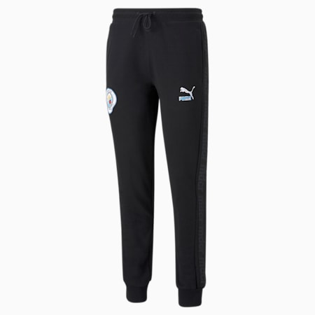 Man City x MDCR Graphic Men's Football Pants, Puma Black, small