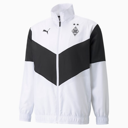 BMG Prematch voetbaljack heren, Puma White-Puma Black, small