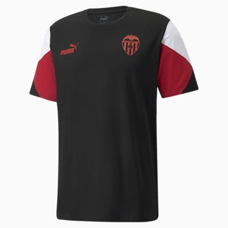 Valencia CF FtblCulture voetbalshirt heren, Puma Black-Puma White, small