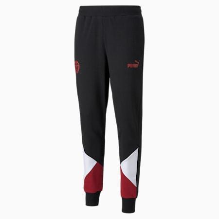 Valencia CF FtblCulture Men's Football Track Pants, Puma Black-Puma White, small-GBR