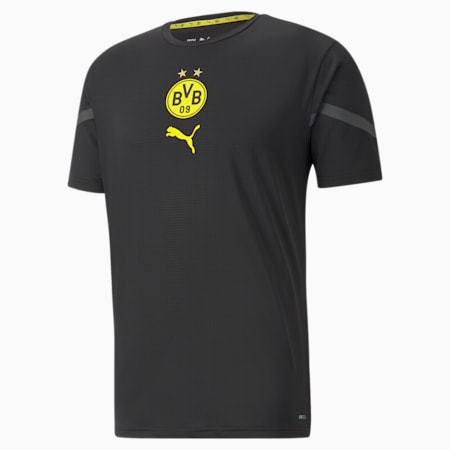 BVB Prematch Men's Jersey, Puma Black, small-GBR