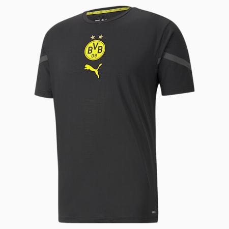 Camiseta PUMA x First Mile BVB Prematchpara hombre, Puma Black, pequeño