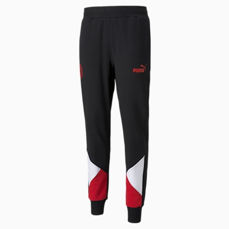 ACM FtblCulture Fußball-Jogginghose für Herren, Puma Black-Tango Red, small
