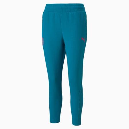 Man City Casuals Women's Football Sweatpants, Ocean Depths-Beetroot Purple, small-GBR