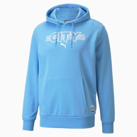 Kangourou de soccer Manchester City FtblCore, homme, Bleu pâle d'équipe - blanc Puma, petit