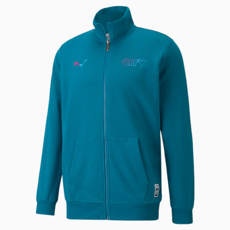 Manchester City FtblCore Men's Track Jacket, Ocean Depths, small-IND