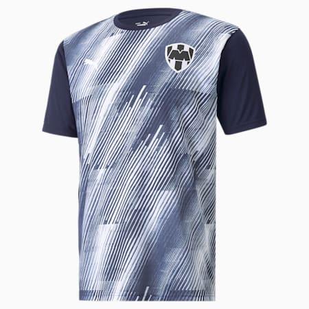 Camiseta de concentración de Monterrey para hombre, Peacoat-Puma White, pequeño