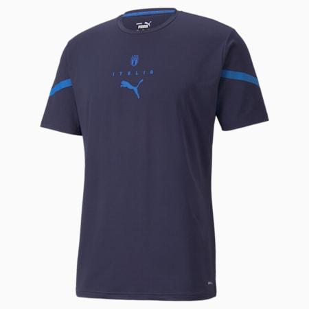 Camiseta de concentración de la FIGCPUMA x FIRST MILE  para hombre, Peacoat-Team Power Blue, pequeño