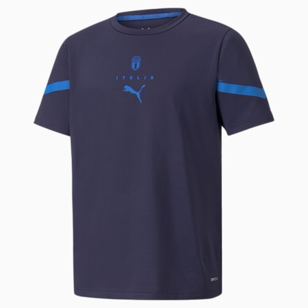 Maglia PUMA x FIRST MILE FIGC Prematch Youth, Peacoat-Team Power Blue, small