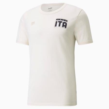 FIGC FtblFeat Men's Football Tee, no color, small