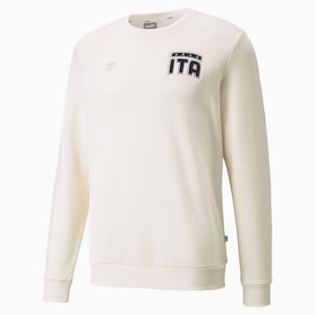 Sweat de football à col rond FIGC FtblFeat Homme, no color, small