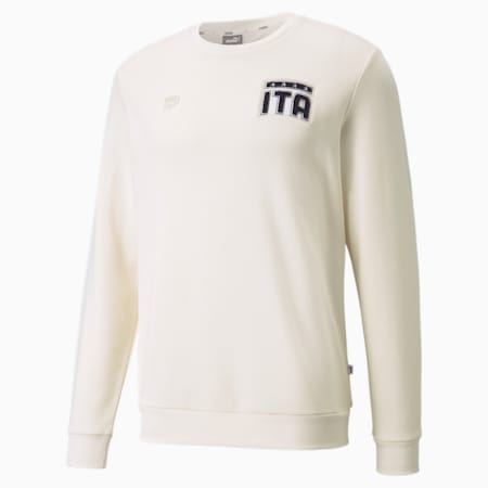 FIGC FtblFeat Crew Neck Men's Football Sweatshirt, no color, small-GBR