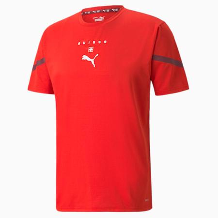 Switzerland Prematch Men's Jersey, Puma Red-Pomegranate, small