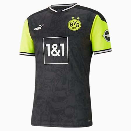 BVB Special Edition Men's Jersey, Puma Black-Safety Yellow, small