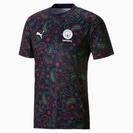 Camiseta deportiva hombre Man City Esports, Peacoat, small