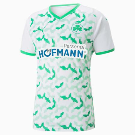 SpVgg Greuther Fürth voetbalshirt thuistenue heren 21/22, Puma White-Bright Green, small