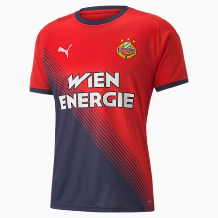 Rapid Wien Away Men's Jersey, Puma Red-Peacoat, small