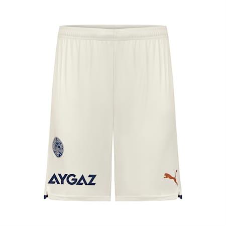 Shorts réplica del Fenerbahçe S.K para hombre, Glacier Gray-Puma White, small