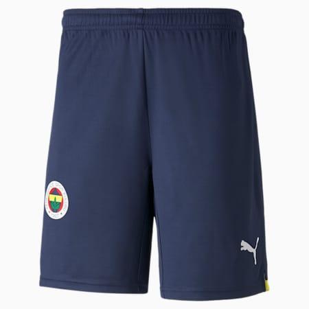 Fenerbahçe S.K. Replica Men's Shorts 21/22, Peacoat-Blazing Yellow, small