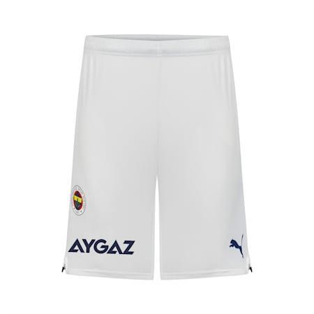 Replika męskich szortów Fenerbahçe S.K, Puma White-Medieval Blue, small