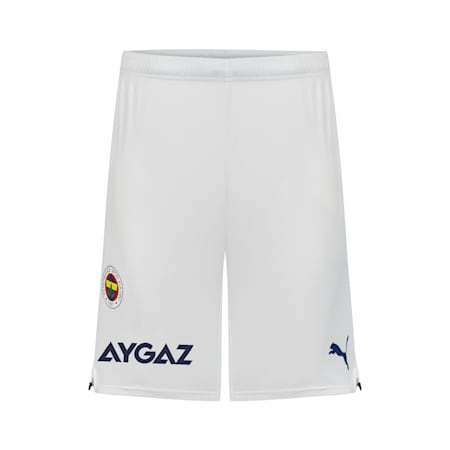 Fenerbahçe S.K. Replica Men's Shorts 21/22, Puma White-Medieval Blue, small