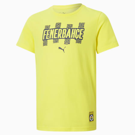 Fenerbahçe S.K. ftblCore Youth Tee, Blazing Yellow-Medieval Blue, small