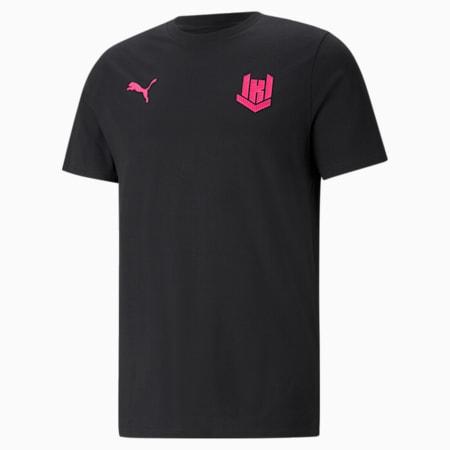 KRÜ Player Men's Esports Tee, Puma Black, small
