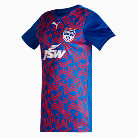 Bengaluru Football Club Home Unisex Jersey, Electric Blue Lemonade, small-IND
