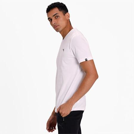 V-Neck T-Shirt, white, small-SEA