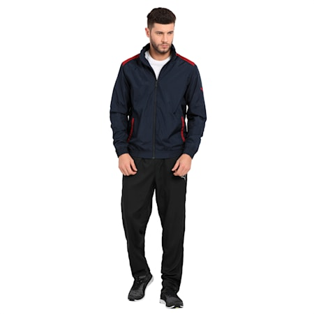 Woven Jacket II, new navy, small-IND
