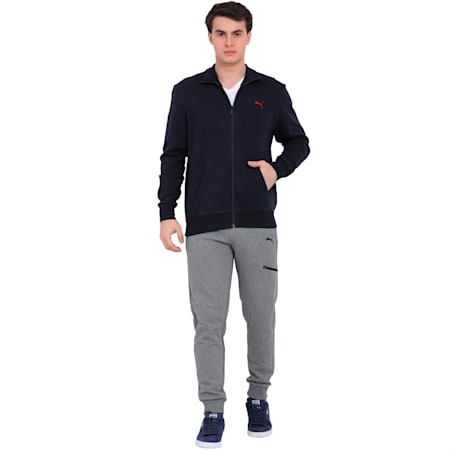 Track Jacket, peacoat, small-IND