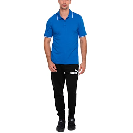 Men s ESS Tipping Polo, Royal Blue, small-IND