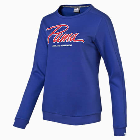 STYLE Collegiate Crew Swt W, Royal Blue, small-IND