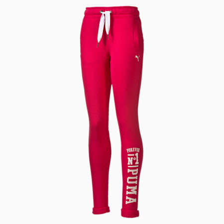 STYLE Athletics Sweat Pants, rose red, small-IND