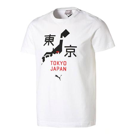 シティー ユニセックス 半袖 Tシャツ 2 TOKYO 東京, Puma White, small-JPN