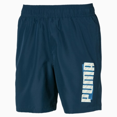Summer Boys' Shorts, Dark Denim, small-IND